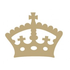 Regal Crown (Pack of 10)(3cm) Small MDF Embellishments
