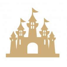 3mm MDF Fairy Castle by height Fairy Doors and Fairy Shapes
