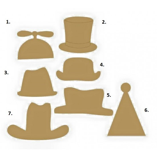 3mm MDF Photo props (Group C) Photo Props