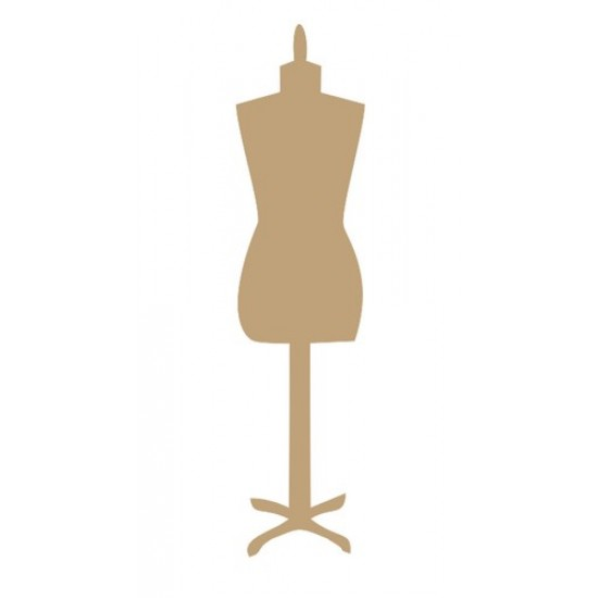 Mannequin  Small MDF Embellishments