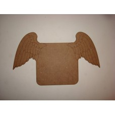 Heavenly Wings Memorial Plaque Basic Plaque Shapes