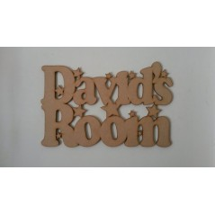 3mm MDF Door Name Plaques (with or without Room attached) Room & Door Plaques