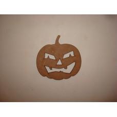 3mm MDF Pumpkin 1 Halloween