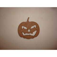 3mm MDF Pumpkin 1
