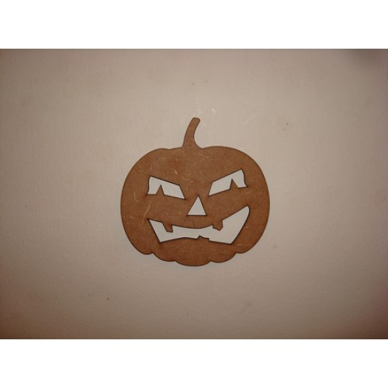 3mm MDF Pumpkin 1 Halloween