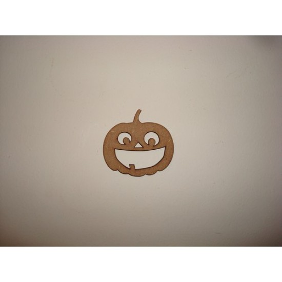 3mm MDF Pumpkin 3 Halloween
