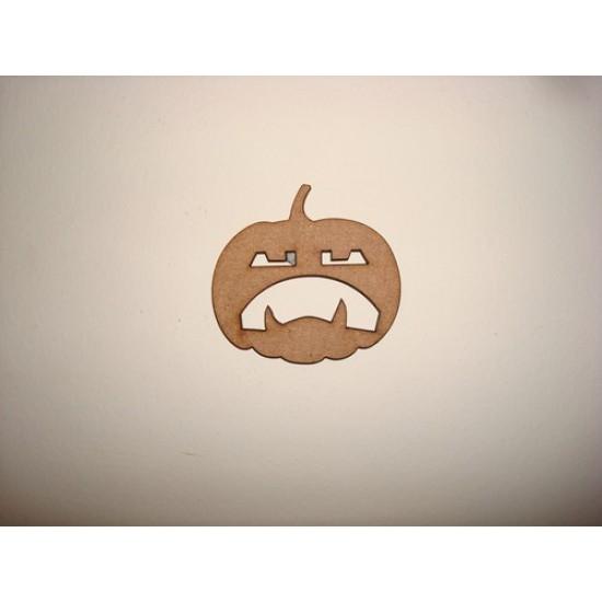 3mm MDF Pumpkin 4 Halloween