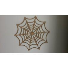 3mm MDF Spiders Web Halloween
