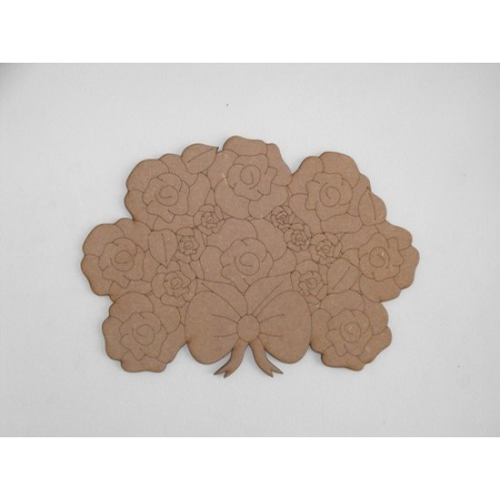 3mm MDF Mother's Day Bouquet flowers only (no box) Mother's Day