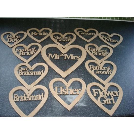 Wedding Hearts (set) Wedding