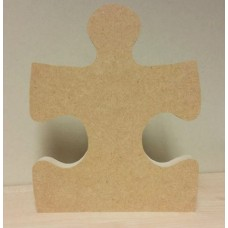 18mm Single Jigsaw Piece Straight Edge 18mm MDF Craft Shapes