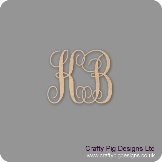 Double Monogram Personalised and Bespoke