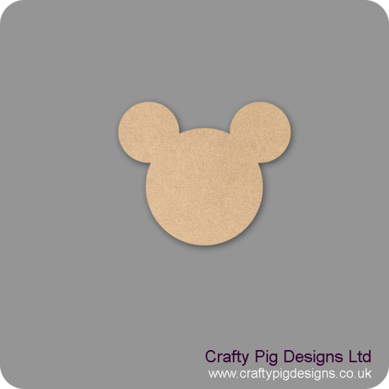 3mm MDF Mickey head Bunting (pack of 10) Bunting
