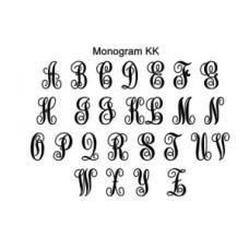 Double Monogram Personalised and Bespoke