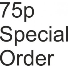 Special Order Item 75p Special Order Items