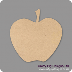 3mm MDF Apple No Leaves