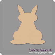 18mm Freestanding Bunny Rabbit With Ears Up Easter
