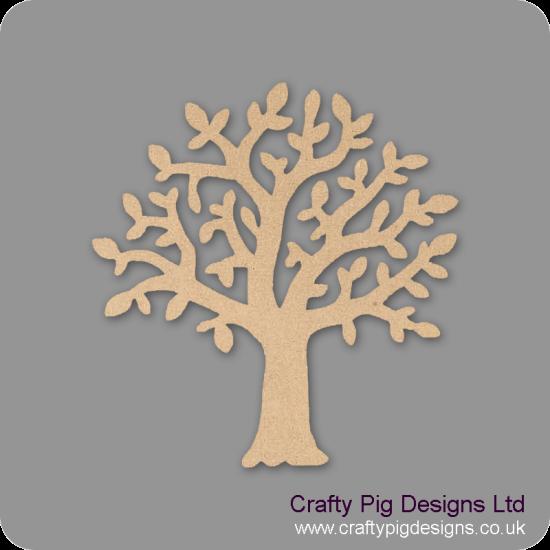 3mm MDF Chunky Branch Tree  Trees Freestanding, Flat & Kits