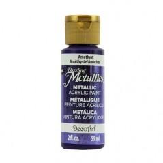 DecoArt Dazzling Metallics Amethyst 2oz