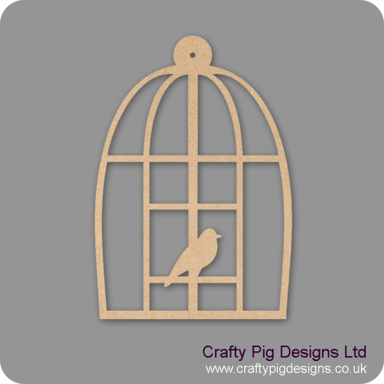 3mm MDF Domed Birdcage