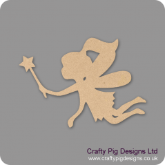 3mm MDF Fairy And Wand Fairy Doors and Fairy Shapes