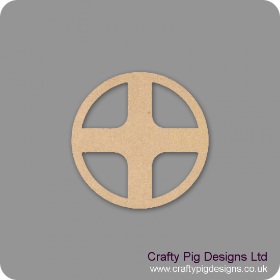 3mm MDF Fairy Windows 2  (Pack of 2)(80mm) - to match fairy door Fairy Doors and Fairy Shapes