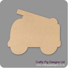 3mm MDF Fire Engine Bunting (pack of 10) Bunting