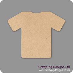 18mm MDF Football Shirt