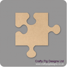 3mm MDF Jigsaw Piece Small MDF Embellishments