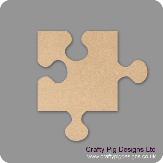3mm MDF Jigsaw Piece Small MDF Embellishments