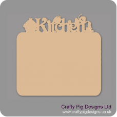 3mm MDF Kitchen Chalkboard Kitchen Plaques