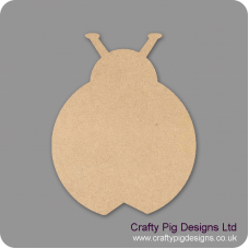 18mm Ladybird 18mm MDF Craft Shapes