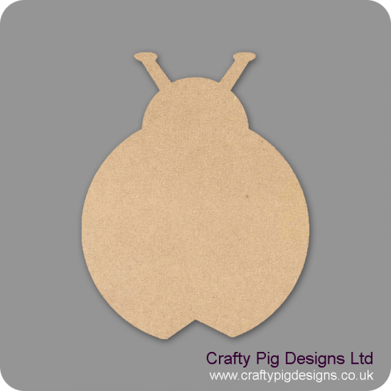 3mm MDF Ladybird Animal Shapes