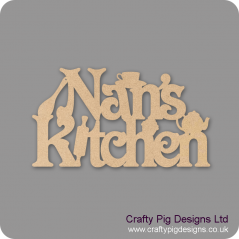 3mm MDF Nans/Nanas/Mums/Grans/Dads Kitchen sign Kitchen Plaques
