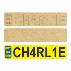 4mm Personalised Number Plate Quotes & Phrases