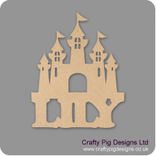 3mm MDF Personalised Fairy Castle Fairy Doors and Fairy Shapes
