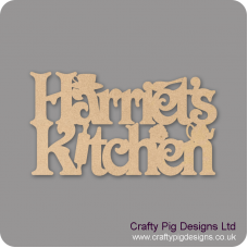 3mm MDF Personalised Kitchen sign Kitchen Plaques