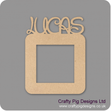 3mm MDF Personalised Light Surround (Your child's name on the top) Light Switch Surrounds