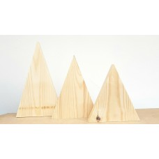 Real Wood Mountain Set Basic Plaque Shapes