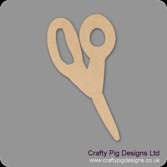 Scissors (Pack of 5)(4cm) Small MDF Embellishments