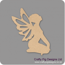 Sitting Fairy (Pack of 5)(4cm) Small MDF Embellishments