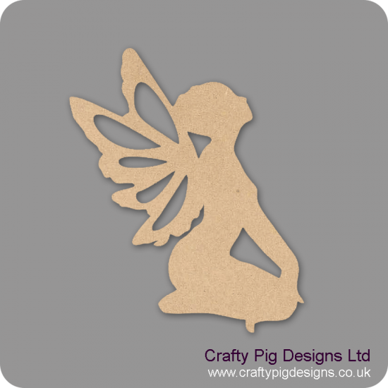3mm MDF Sitting Fairy Fairy Doors and Fairy Shapes