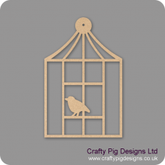3mm MDF Square Birdcage Birdcages