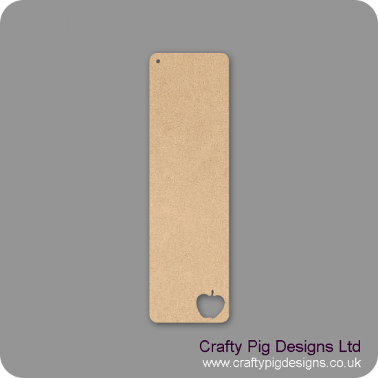 3mm MDF Teacher Bookmark - choice of cut out