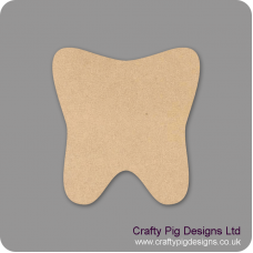 18mm Tooth 18mm MDF Craft Shapes