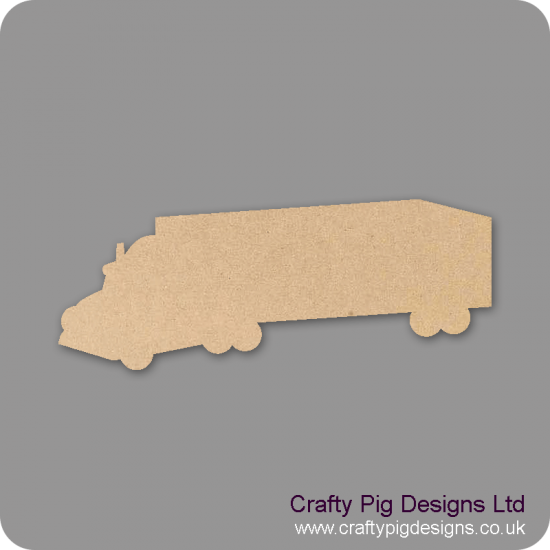 3mm MDF Truck Small MDF Embellishments