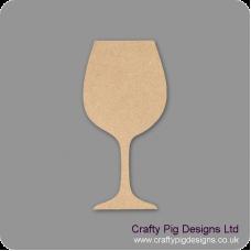 3mm MDF Wine glass Small MDF Embellishments