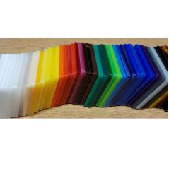3mm Acrylic Coaster Mat Shape Basic Shapes - Square Rectangle Circle