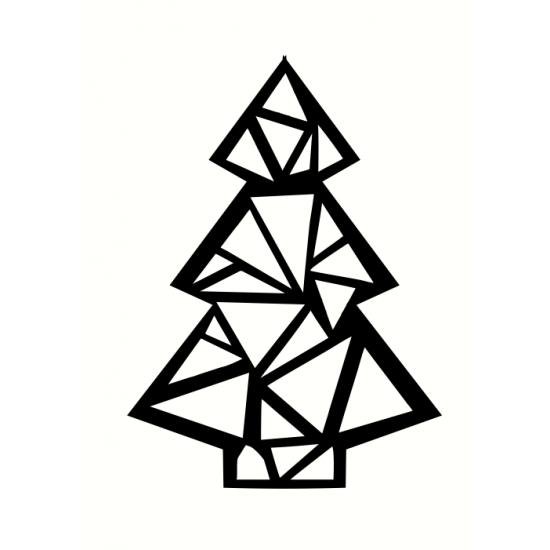 3mm mdf Geometric Christmas Tree