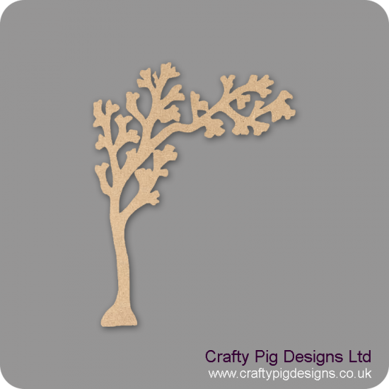3mm MDF Arched Bough Tree  Trees Freestanding, Flat & Kits